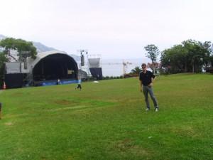 Bühne auf Madeira