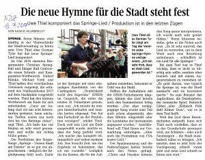 """Artikel aus der """"Neue Deister Zeitung"""""""